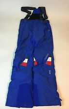 Men's size 30 vuarnet gore-Tex xcr Ski bib overalls, blue, super high quality