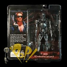 The TERMINATOR T-800 ENDOSKELETON Action Figure NECA in USA!