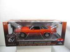 1/18 SCALE HIGHWAY 61 / SUPERCAR HEMI ORANGE 1971 DODGE CHALLENGER R/T
