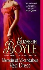 Memoirs of a Scandalous Red Dress by E. Boyle 2009 New!