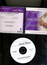 HAYDN. THE CREATION. 2 CD SET. CRACOW-ROLAND BADER. CLASSICAL EVOLUTION. FINE.