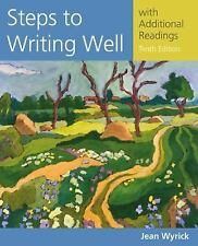 Wyrick's Steps to Writing Well: Steps to Writing Well with Additional...