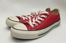 Worn Boys All Star Converse Low Top Chuck Taylor Mens Size 5 Womens 7