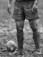 DT BALL RUGBY MUD BOWL ART POSTER PRINT BMP10798