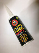 Silicate Cement Flue Seal Silicone 1500°C Fire Proof Sealant, Wood Burning Stove