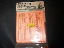 WARHAMMER FANTASY GAMES WORKSHOP BATTLE LINES 1994 CHAOS DWARF ARMY CARDS