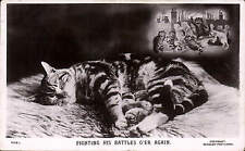 Louis Wain. Fighting His Battles O'er Again by J. Beagles # 950 L. Shakespeare.