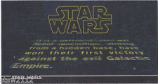 STAR WARS TOPPS A NEW HOPE 3DI WIDEVISION BASE SINGLE YOU PICK ONE DESCRIPTION