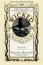 Wicked: The Life and Times of the Wicked Witch of the West - Gregory Maguire - P