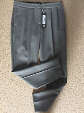 NEW! GREY FINE WOOL TROUSERS BY D EXTERIOR £310