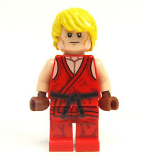 LEGO custom STREET FIGHTER video game karate ninja ninjago - - - KEN