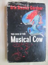 THE CASE of the MUSICAL COW by Erle Stanley Gardner 1950 HBDJ