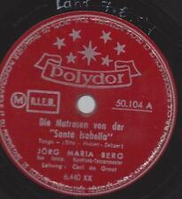 Jörg Maria Berg mit  Erwin Halletz : Wenn das blaue Meer nicht wär