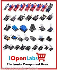 37 IN 1 BOX SENSOR KITS FOR ARDUINO HIGH-QUALITY, (Works with Arduino Boards) pi