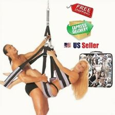 Love Sex Swing Fantasy Spinning Strap Couple Toy Harness Bondage Adult Sexual