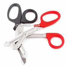 "2 EMT Shears Scissors Bandage Paramedic Trauma Medical Nurse 7."" Stainless Steel"