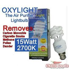 Ionmax Oxylight 15W 2700K B22 Bayonet negative ion Ionic Energy saver light bulb