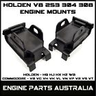 FRONT ENGINE MOUNT HOLDEN STATESMAN HQ HJ HX HZ WB VQ VR VS 253 OR 308 V8 PAIR