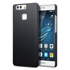 Genuine High Impact Rubberised Case Micro Thin Bumper Black For Huawei P9