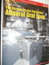 Kagero Publishing - Top Drawings 22 - The German Admiral Graf Spee    New   Book