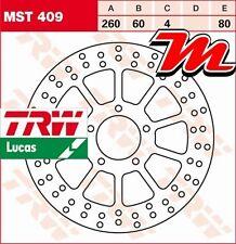 Disque de frein Avant TRW Lucas MST 409 pour Aprilia 500 Scarabeo ABS VR 2003-06