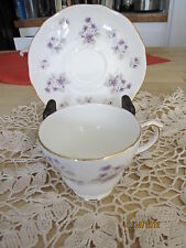 Duchess Bone China Cup And Saucer in Wood side Flowered  Pattern Number 350
