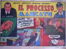 Radio Pattuglia Albo Avventure n°26 1947 Delitti perfetti ed. Capriotti  [G319]