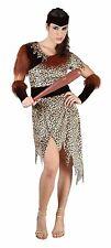 Adult Women / Girls 10000 BC Costume Ladies Cave People Fancy Dress Outfit