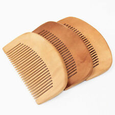 Portable Natural Bamboo Wooden Eco-Friendly Detangling Healthy Hair Brush Comb