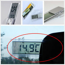 Automobile Interior Front Windshield LCD Digital Thermometer For Mazda 3 Series