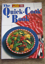 The Quick Cookbook 1991 Paperback Australian Women's Weekly Cookbook