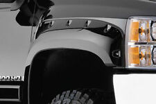 BUSHWACKER 40097-02 Front Black Cutout Style Fender Flares for 2007&up Silverado