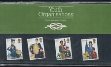 QEII 1982 Presentation Pack Youth Organizations Stamps