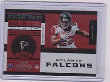 2011 Contenders Playoff Ticket Jacquizz Rodgers #22/100 Falcons Jersey #