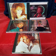 LOT SET of 5 REBA McENTIRE CDs Country Music Read My Mind Greatest Hits 2