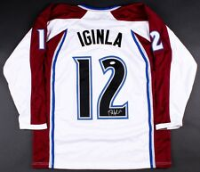 Jarome Iginla Signed Colorado Avalanche Hockey Jersey (JSA COA)