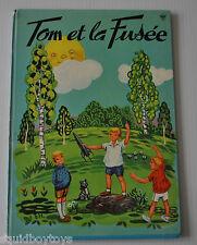 TOM et la FUSEE French Children Book Elisabeth Halfdander 1960s Lito