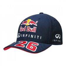 CAP Infiniti Red Bull Racing Formula One 1 F1 Daniil Kvyat No.26 Curved Peak NEW