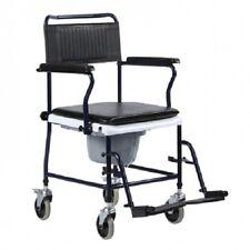 Sedia da comodo con ruote - INTERMED sedia a rotelle carrozzina sedia wc OFFERTA
