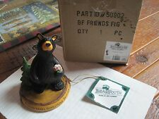 "Big Sky Carvers Bearfoots Bears  #50902 "" Friends "" CABIN Collectible woodland"
