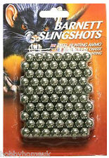 BARNETT SPARE SLING SHOT CATAPULT AMMO X 140 BLACK WIDOW DIABLO STRIKE NINE