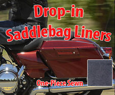 Sewn Drop-in  Saddlebag Liners for all Harley Davidson Touring  Install Video!