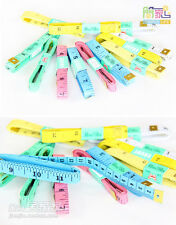 "Soft Cloth Tape Diet Measure Ruler Sewing Dual Sided Standard Metric 60"" 150cm A"