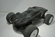 LOSI 1/14 MINI 8IGHT T TRUGGY 2XCFL CONCEPT REAL CARBON FIBER  BODY