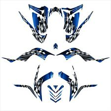 Raptor 700 graphics 2006 2007 2008 2009 2010 2011 2012 deco kit NO2500 Blue