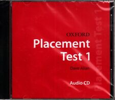 OXFORD PLACEMENT TEST 1: Class Audio CD / DAVE ALLAN @BRAND NEW, SEALED@