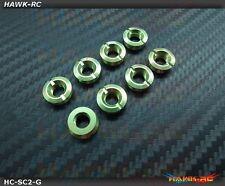 Hawk TX Switch Cap Green V2 (Flat Bottom, Futaba)