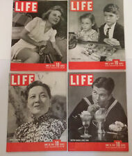 LIFE MAGAZINE LOT 1941 9 Issues April May June NYC Linda Hop Dole Chiang Windsor
