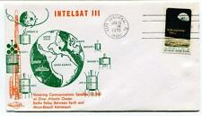 1970 Intelsat III Cape Canaveral Atlantic Ocean Radio Relay Apollo 8 SPACE NASA