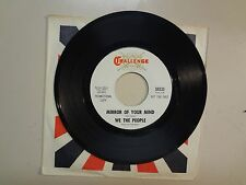 "WE THE PEOPLE:Mirror Of Your Mind-(You Are)The Color Of Love-U.S. 7"" ChallengeDJ"